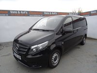 USED 2016 65 MERCEDES-BENZ VITO 2.1 114 BLUETEC 1d 136 BHP MERCEDES VITO 114 CDI EURO 6 LOW MILES