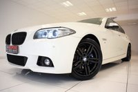 USED 2014 14 BMW 5 SERIES 520D M SPORT AUTOMATIC
