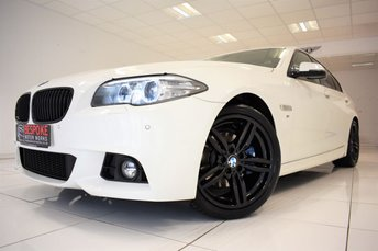 2014 BMW 5 SERIES 520D M SPORT AUTOMATIC £14995.00