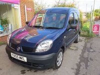 2006 RENAULT KANGOO 1.6 AUTHENTIQUE 16V 5d AUTO 94 BHP £SOLD