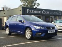 USED 2018 18 SEAT LEON 1.6 TDI SE DYNAMIC TECHNOLOGY 5d 114 BHP