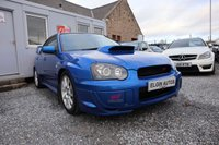 USED 2005 05 SUBARU IMPREZA WRX STi Type UK 2.0 4dr ( 335 bhp ) Rare STI with Many Extras Full Extensive Service History with Folder of Receipts Best Colour Future Classic New Tein Street Advance Z Adjustable Coilovers