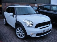 2012 MINI COUNTRYMAN 2.0 COOPER SD ALL4 5d AUTO 141 BHP £10480.00