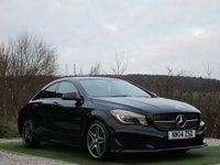 USED 2014 14 MERCEDES-BENZ CLA 1.6 CLA180 AMG SPORT 4d 122 BHP