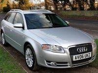 USED 2006 06 AUDI A4 2.0 TDI SE TDV 5d 140 BHP