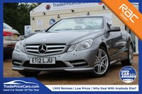 USED 2012 12 MERCEDES-BENZ E CLASS 2.1 E220 CDI BLUEEFFICIENCY SPORT 2d 170 BHP
