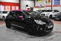 USED 2014 63 CITROEN DS3 1.6 E-HDI AIRDREAM DSPORT PINK 3d 115 BHP