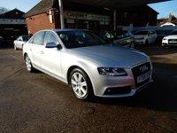 2011 AUDI A4 2.0 TDI SE 4d AUTO 141 BHP £7990.00