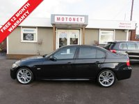 USED 2008 08 BMW 3 SERIES 3.0 325D M SPORT 4DR AUTOMATIC DIESEL 195 BHP +++FREE 12 MONTH WARRANTY UPGRADE+++