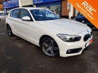 2015 BMW 1 SERIES 1.5 118I SPORT 5d AUTO 134 BHP £SOLD