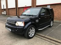 2009 LAND ROVER DISCOVERY 3.0 4 TDV6 XS 5d AUTO 245 BHP £14991.00