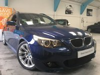 USED 2005 05 BMW 5 SERIES 3.0 535D SPORT TOURING 5d AUTO 269 BHP
