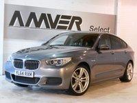 USED 2015 64 BMW 5 SERIES 2.0 520D M SPORT GRAN TURISMO 5d AUTO 181 BHP