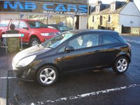 USED 2011 11 VAUXHALL CORSA 1.2 SXI 3d 83 BHP ONLY 71000 MILES FROM NEW