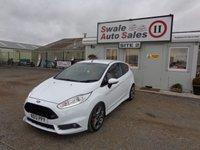 2013 FORD FIESTA 1.6 ST-2 3 DOOR 180 BHP £9495.00