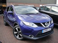 USED 2016 66 NISSAN QASHQAI 1.5 N-CONNECTA DCI 5d 108 BHP ANY PART EXCHANGE WELCOME, COUNTRY WIDE DELIVERY ARRANGED, HUGE SPEC