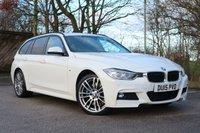 2015 BMW 3 SERIES 3.0 330D XDRIVE M SPORT TOURING 5d AUTO 255 BHP £18450.00