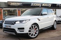 USED 2015 15 LAND ROVER RANGE ROVER SPORT 3.0 SDV6 HSE AUTOMATIC PANORAMIC ROOF