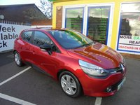 USED 2014 64 RENAULT CLIO 0.9 EXPRESSION PLUS ENERGY TCE S/S 5d 90 BHP