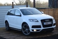 USED 2014 64 AUDI Q7 3.0 TDI QUATTRO S LINE PLUS 5d AUTO 245 BHP FSH 1 OWNER PAN ROOF LEATHER HPI CLEAR
