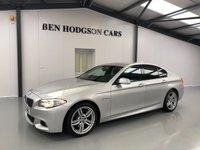 USED 2012 12 BMW 5 SERIES 3.0 530D M SPORT 4d AUTO 255 BHP Sat Nav, Xenon Lights, DAB