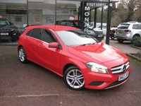 2013 MERCEDES-BENZ A CLASS 1.5 A180 CDI BLUEEFFICIENCY SPORT 5d 109 BHP £9990.00