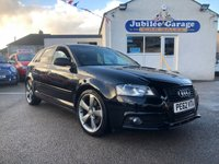 USED 2012 62 AUDI A3 2.0 SPORTBACK TDI S LINE SE 5d 168 BHP One Owner, Audi History, Low Miles, Black Edition!