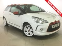 USED 2013 13 CITROEN DS3 1.6 E-HDI AIRDREAM DSPORT RED 3d 115 BHP 17