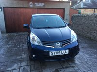 USED 2009 09 NISSAN NOTE 1.4 ACENTA 5d 88 BHP FULL RECORDED SERVICE HISTORY. LONG MOT. RECENT SERVICE.