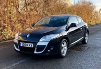 USED 2010 10 RENAULT MEGANE 1.6 DYNAMIQUE VVT 2d 110 BHP TOM TOM EDITION, NAVIGATION, BLUETTOTH PHONE ETC