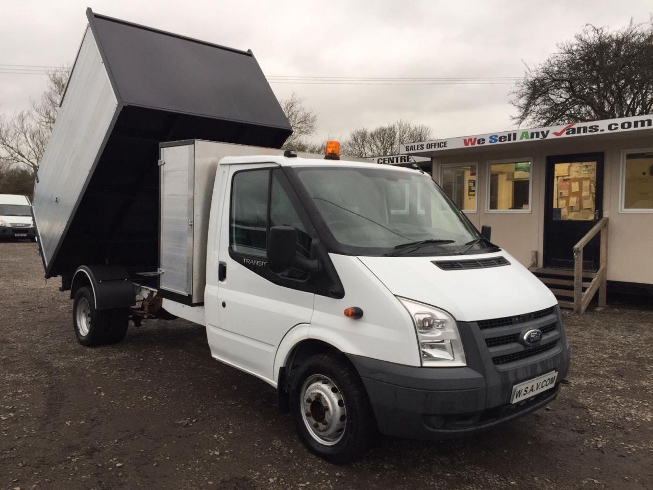 bba967cc04 2010 10 FORD TRANSIT 2.4 350 DRW TREE SURGEON   ARBORIST TIPPER NEW BUILD  100 BHP