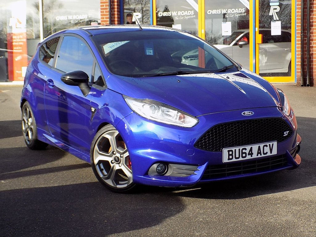 USED 2014 64 FORD FIESTA 1.6 EcoBoost ST-2 3dr (18182) * Style Pack + Cruise Control *