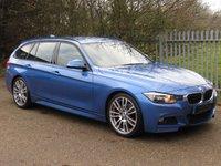 2013 BMW 3 SERIES 2.0 320D M SPORT TOURING 5d 181 BHP £9495.00