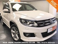 USED 2013 W VOLKSWAGEN TIGUAN  2.0 TSI 4MOTION DSG AUTO R LINE UK DELIVERY* RAC APPROVED* FINANCE ARRANGED* PART EX