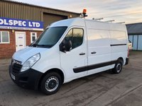 USED 2011 61 VAUXHALL MOVANO 2.3 F3500 L2H2 MWB CDTI 100 BHP WORKSHOP