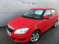 USED 2014 64 SKODA FABIA 1.2 SE 12V 5d 68 BHP ONLY 15000 MILES , AIR CON