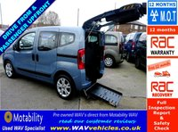 2012 FIAT QUBO 1.2 MULTIJET MYLIFE DUALOGIC 5d AUTO 75 BHP £7995.00