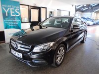 USED 2014 64 MERCEDES-BENZ C CLASS 2.1 C220 BLUETEC SPORT 4d 170 BHP One owner, Full service history, September 2019 Mot. Finished in Obsidian Black with heated Black leather.