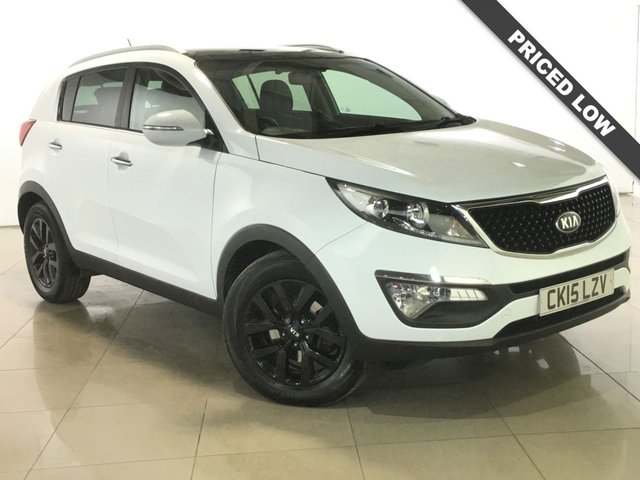 View our 2015 15 KIA SPORTAGE 1.7 CRDI 2 ISG 5d 114 BHP
