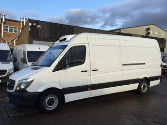 2015 MERCEDES-BENZ SPRINTER 2.1 313CDI LWB FRIDGE CHILLER. LOW FINANCE. 1 OWNER. PX WELCOME £13990.00