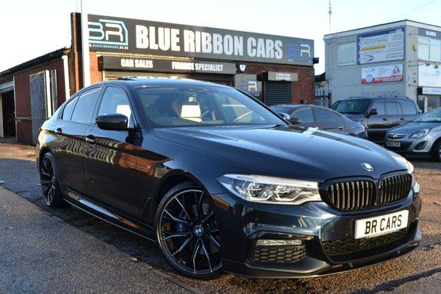 2017 17 BMW 5 SERIES 3.0 530D M SPORT 4d AUTO 261 BHP