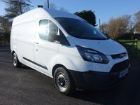 2014 FORD TRANSIT CUSTOM 290 L2 H2 LWB HIGHTOP 2.2 TDCI 125 BHP £9995.00