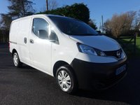USED 2015 65 NISSAN NV200 ACENTA 1.5 DCI 90 BHP Popular Van Direct From Leasing Company With Only 24000 Miles! Very Clean Example Viewing Recommended!