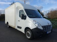 USED 2014 64 RENAULT MASTER LL35 LWB LOW LOADER LUTON 2.3DCI 125 BHP Direct From Leasing Company With 78k And Full Renault Service History! Many Extras Inc Air Con, Reversing Camera And Barn Style Rear Doors!