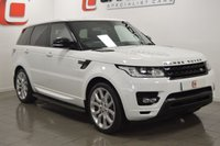 USED 2014 63 LAND ROVER RANGE ROVER SPORT 3.0 SDV6 HSE DYNAMIC 5d AUTO 288 BHP LOW MILES + 22 INCH ALLOYS + BEST COLOUR + FULLY COLOUR CODED