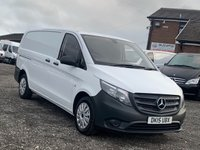 USED 2015 15 MERCEDES-BENZ VITO 1.6 111 CDI FACELIFT LONG LWB LWB, FACELIFT, FDSH, ONE OWNER FROM NEW, ONLY 42K MILES,