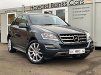 USED 2011 11 MERCEDES-BENZ M CLASS 3.0 ML350 CDI BLUEEFFICIENCY GRAND EDITION 5d AUTO 231 BHP PREMIUM WARRANTY