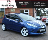 USED 2010 60 FORD FIESTA 1.6 S1600 3d 118 BHP LOW RATE FINANCE AVAILABLE!