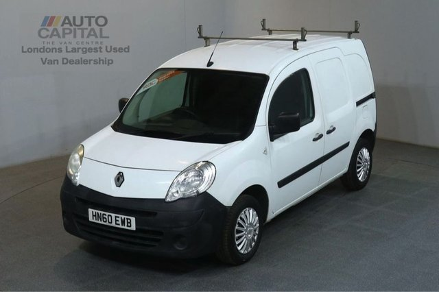 2010 60 RENAULT KANGOO 1.5 ML20 PLUS DCI 67 BHP SWB SAT NAV PANEL VAN  TWO OWNER SPARE KEY