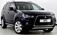 USED 2010 10 MITSUBISHI OUTLANDER 2.2 DI-D Juro SST 4x4 5dr [7 Seats] F/S/H (7 Stamps), Great Spec!